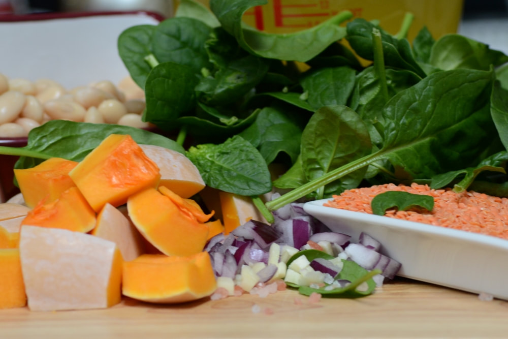 Healthy raw ingredients